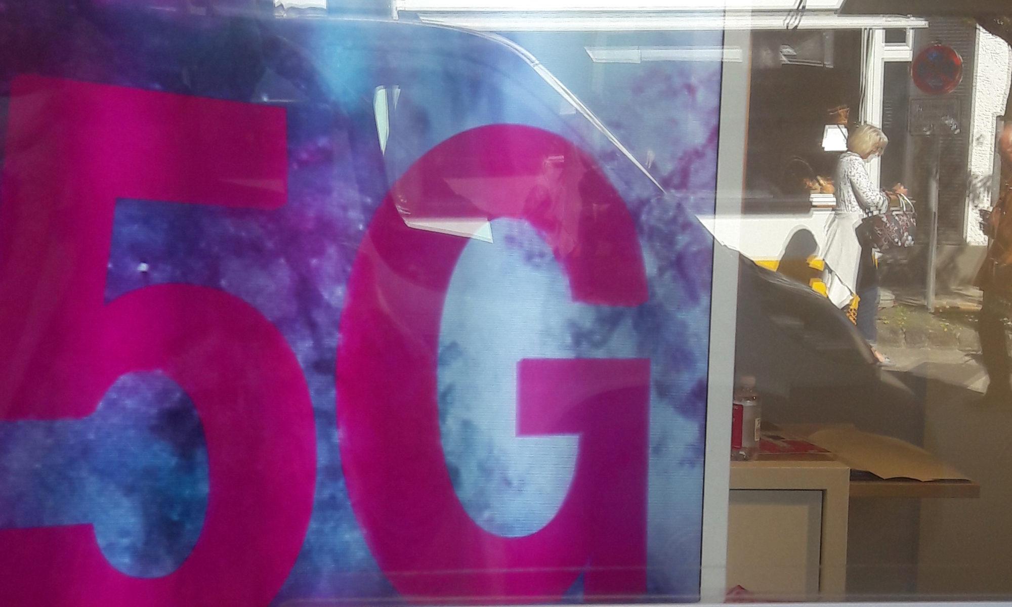 Der neue Mobilfunkstandard 5G befindet sich gerade im Aufbau